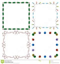 Decorative Holiday Borders