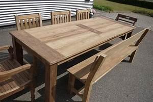 Gartentisch Holz Massiv : gartentisch selber bauen anleitung ~ Indierocktalk.com Haus und Dekorationen