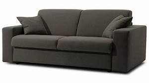 Canape lit 3 places tissu deperlant pas cher specialiste for Canapé trois places pas cher