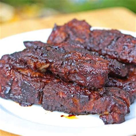 Inspired2cookcom » Saucy Countrystyle Oven Ribs