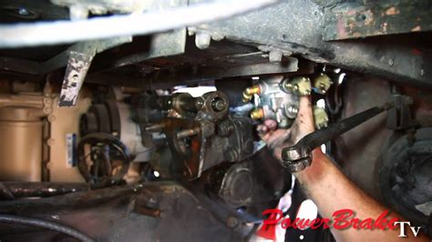 installing airhydraulic brake system valve conversion