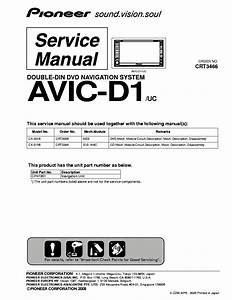 Pioneer Avic D3 Wire Diagram