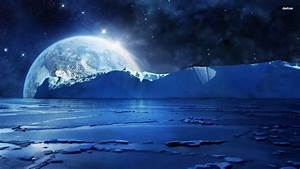 Earth from the icy planet | Fantasy Planets | Pinterest ...