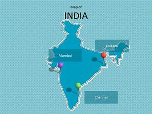 india map template With india map ppt template