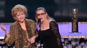 Debbie Reynolds accepts SAG Lifetime Achievement Award ...