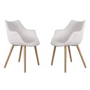chaise blanche et bois pas cher id 233 es de d 233 coration int 233 rieure decor