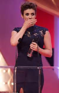 Corrie Fans In Tears At Kym Marshs Soap Awards Speech