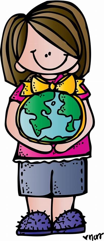 Clipart Melonheadz Teacher Library Earth Cliparts Clip