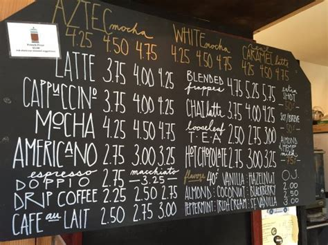 Download insomnia coffee and enjoy it on your iphone, ipad, and ipod touch. Menu - Picture of Insomnia Coffee Co., Cannon Beach - Tripadvisor
