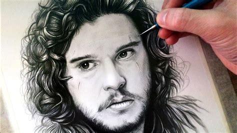 Drawing Jon Snow