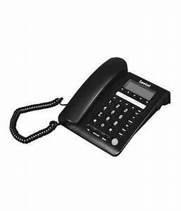 Buy Beetel M59 Corded Landline Phone ( Black ) Online at ...