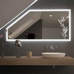 Schiebetüren Für Dachschrägen : spiegel f r dachschr gen mit led beleuchtung planteo 989707004 ~ Sanjose-hotels-ca.com Haus und Dekorationen