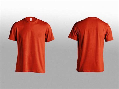 mockup t shirt t shirt front back mockup free download