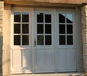 porte entree isolante triple vantaux With porte de garage avec porte intérieure semi vitrée