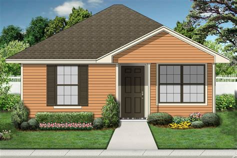 1 Bedroom, 1 Bath Beach House Plan  #alp09w3  Allplanscom