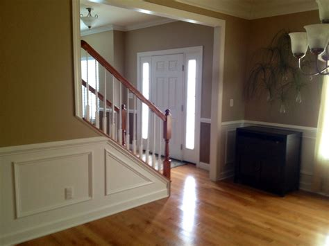 wainscoting and sherwin williams nomadic desert for the
