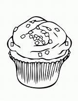 Cupcake Coloring Disimpan Dari Tech Sheet sketch template