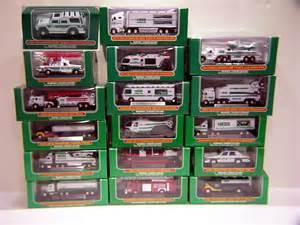 2016 Mini Hess Toy Trucks