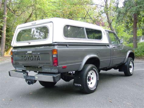 toyota  standard cab pickup  gray  sale