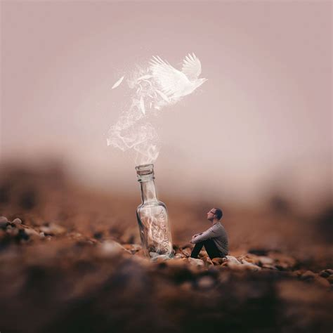 message   bottle  joel robison art image de