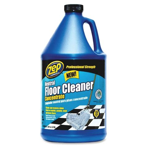Zep Concentrated Neutral Floor Cleaner  Liquid Solution