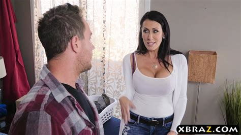 Stepmom With Big Tits Fucks Stepson While Dad Is