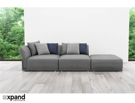 Stratus Contemporary Sofa 3 Seat  Expand Furniture