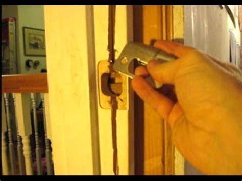 how to fix a door frame how to repair a door jamb
