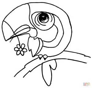 Bird Beak Coloring Pages