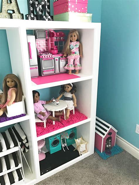 diy american girl doll house