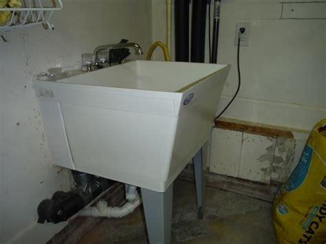 drain   utility sink  garage doityourselfcom