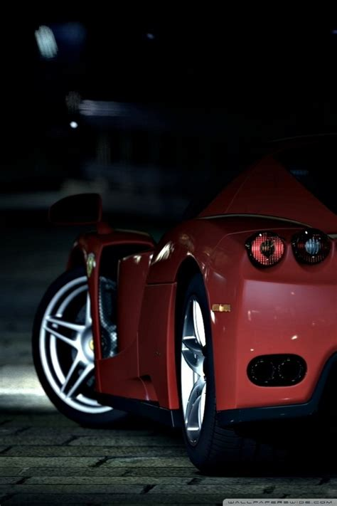 red ferrari  hd desktop wallpaper   ultra hd tv