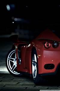 Red Ferrari 4K HD Desktop Wallpaper for 4K Ultra HD TV