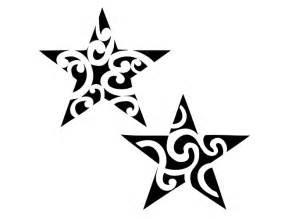 Tribal Star Tattoo Designs