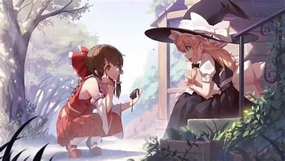 Anime Wallpapers Friends Animated Peaceful Touhou Awesome