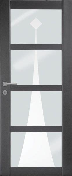 porte interieure contemporaine mdf noir vernis naturel mat