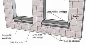 Pose Appui De Fenetre : schema pose fenetre sur appui ~ Melissatoandfro.com Idées de Décoration