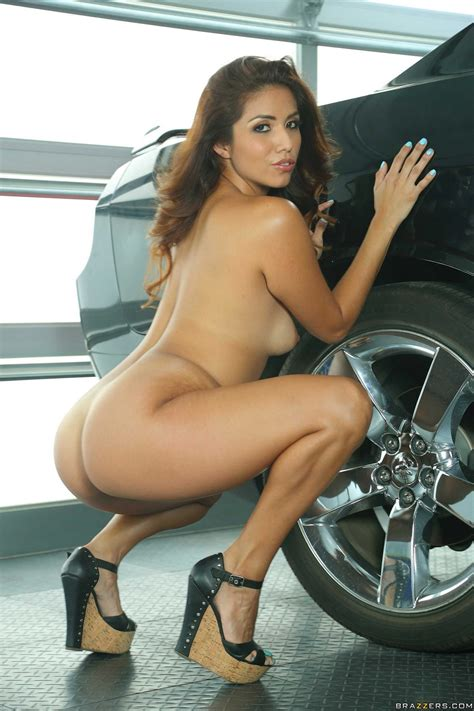 latina beauty isabella taylor posing and showing off her