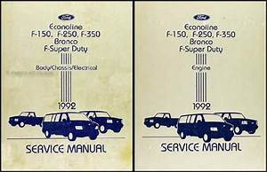 Diagram  1996 Ford Aerostar Service Shop Repair Set Oem