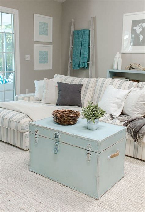 blue table ls for living room 16 old trunks turned coffee tables that bring extra
