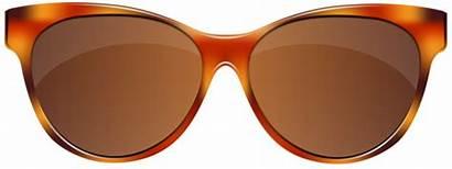Sunglasses Clip Brown Clipart Glasses Transparent Yopriceville