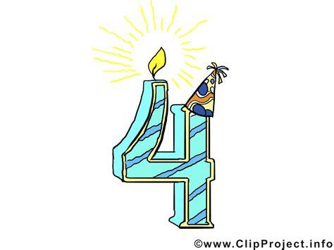 anniversaire de mariage 4 ans image 4 ans illustration gratuite anniversaire clipart