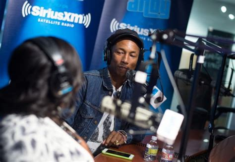 Pharrell at Bevy Smith's show 'Bevelations' On SiriusXM ...