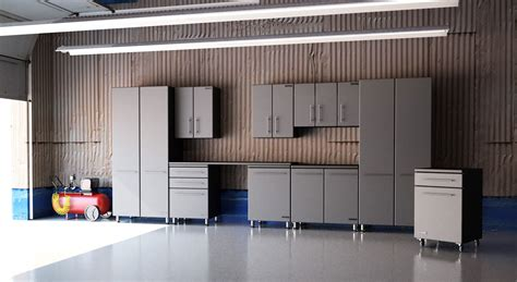 15' Ultimate Garage Storage Super System  10 Pieces Set