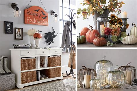 fall entryway decorating ideas pottery barn