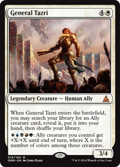 Standard Deck Mtg Oath by General Tazri From Oath Of The Gatewatch Spoiler