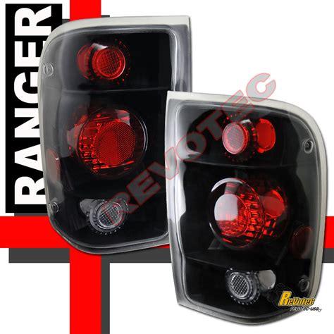 2000 ford ranger tail lights 1998 2000 ford ranger pickup black tail lights ls 1