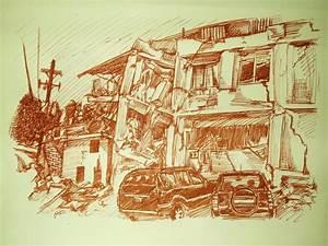Haiti Earthquake sketch 02 by Zonguerilla on deviantART