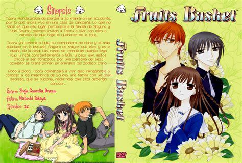 fruits basket anime dvd custom fruits basket dvd cover by eevee no on