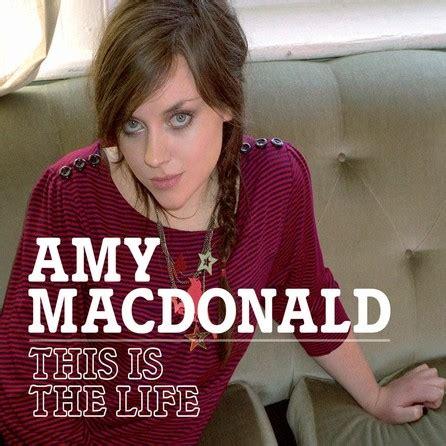 Amy Macdonald  This Is The Life  Cover  Bildfoto Fan